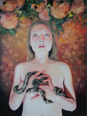EDEN I · 2020 · oil on linen 160X120cm