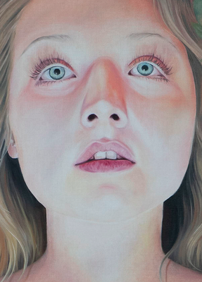 EDEN I Detail · 2020 · oil on linen 160X120cm