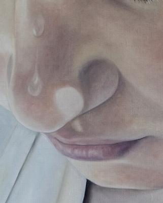 SUMMERBATH Detail · 2020 · oil on linen 100X120cm