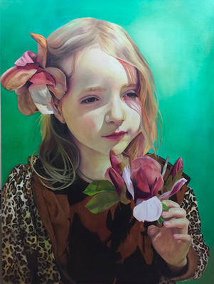 MAGNOLIA · 2020 · oil on linen 160X120cm