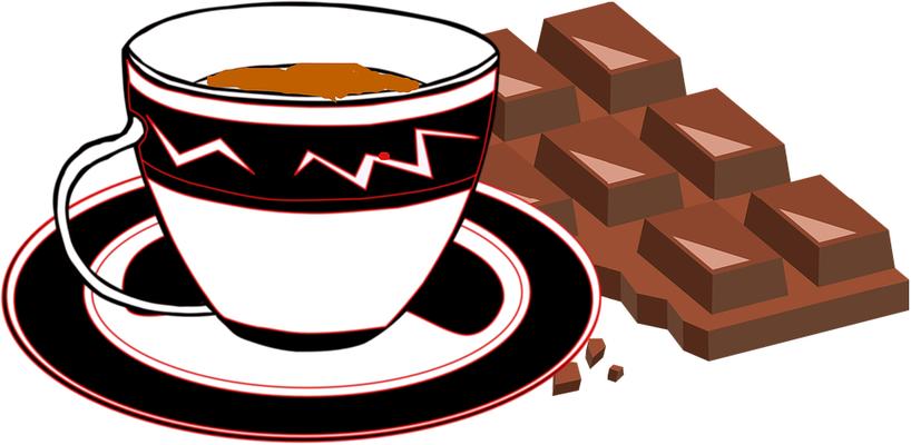 尿路結石の再発を予防するために、チョコレート、コーヒー、ココアは控えましょう。