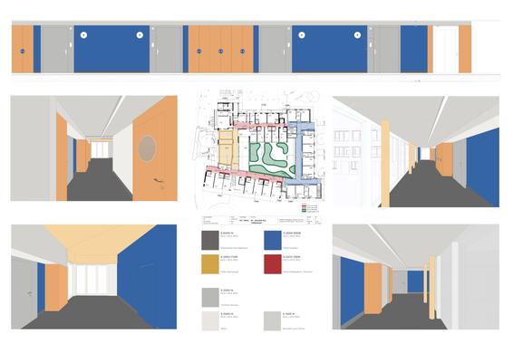 Das Farbkonzept in Planung