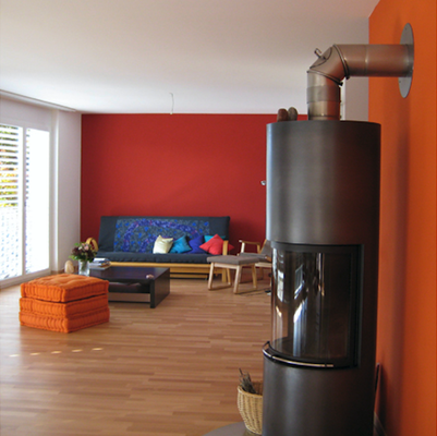 Die wunderbaren Naturfarbpigmente von le Corbusier.