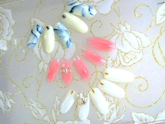 本八幡ネイルサロンサパデコポ 定額¥5,500デザイン