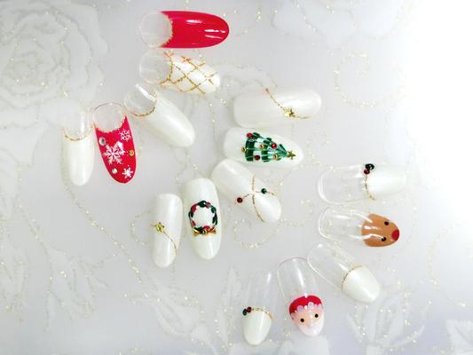 クリスマス定額☆自他店オフ&ケア込¥4,999(^^♪