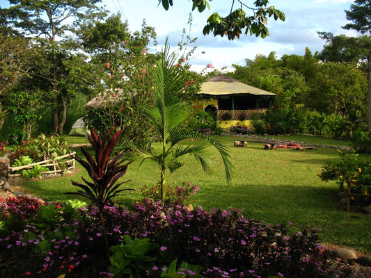 Garten der Finca El Maco San Agustin