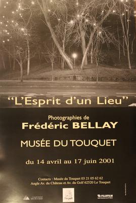 "Affiche "" L'Ésprit d'un Lieu, Frédéric Bellay"""