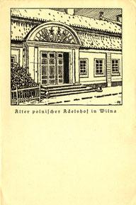 Atvirlaiškis / Feldpostkarte. Frenz Druck und verlag: Zeitung der 10