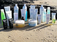Produits cosmétiques Thalac utilisés en soins d'hydrothérapie - Institut Bleu Océan Cazaux