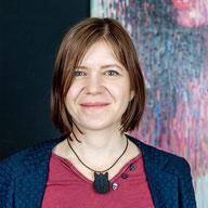 Susanne Höhne berät zu Kunst in der Beuteltier Art Galerie in Leipzig - eine besondere Kunstgalerie