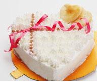 犬用ケーキ,ハート型ナチュラルテイスト,無添加