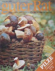Guter Rat DDR Zeitung 1982