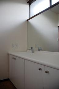 岡山H邸リノベーション(岡山市中区)洗面室