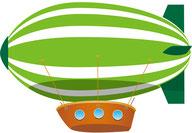 C)飛行船
