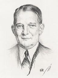 René Coty président 1958