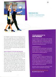"""Bericht über Jannik Hensel in """"Wir im Sport"""" Ausgabe 05.2018"""
