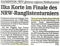 Solinger Tageblatt vom 07.05.1991 NRZ RLT Jugend
