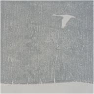 Farbholzdruck, 40 x 40 cm, m.R. € 150