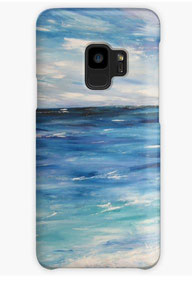 coque-telephne-galaxy-plage-ocean-marine-bleu-vague