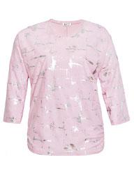 rosa Pulli Gr 50 , Plus Size Fashion