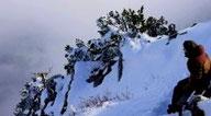 Rando raquette surprise sur la montagne ardéchoise