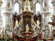 Gnadenaltar mit 14 Nothelfern, Basilika Vierzehnheiligen