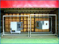 大物ワーク対応・塗装設備