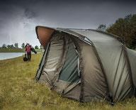 Zelte und Kescher