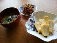 大阪兵庫で家事代行サービスの食事作りの朝食できんぴらごぼう