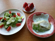大阪兵庫で家事代行サービスの夕食作りでたらのムニエル
