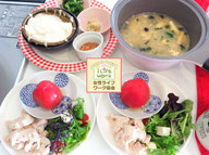 大阪兵庫で家事代行サービスの夕食作りで鶏ハムサラダ