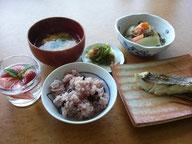 大阪兵庫で家事代行サービスの夕食作りで鯛の塩焼き