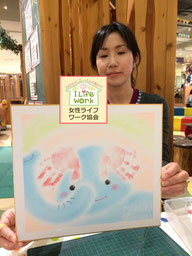 大阪・兵庫の親子イベントでパステルアートを描こう教室3