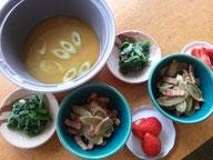 大阪兵庫で家事代行サービスの食事作りの朝食できんぴら