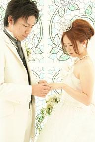 フォトスタジオで結婚式