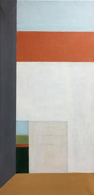 Farbräume 6, Acryl, 60 x 30 cm, 2018