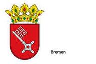 Das Wappen der Freien und Hansestadt Bremen