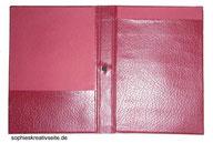 Mappe DinA5 für Notitzblöcke / Schreibblöcke