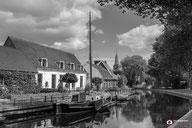 Landschapsfotografie: Nostalgisch-Harmelen-in-Zwart-wit