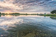 Landschapsfotografie: Rivier De IJssel tijdens zonsondergamg