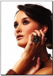Bracelets Femme Bijoux des Lys Mode et Classique Cristal et Plaqué Argent