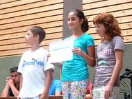 Die Klasse 5 freute sich über den Gesamtsieg bei bike2school.