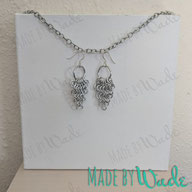 Armormaille earrings are a triangle of chainmaille (similar to how armor is made) and are amazing to see in person!