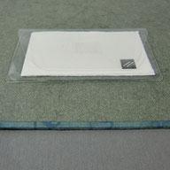 Einstecktasche transparent