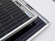 Solar panels with frames. These solar panels passed all tests. Solar panels with frames are ideal for mobile use on campers, motorhomes, vans, mobile homes & of-road vehicles. Solar panels light, flexible & walkable.
