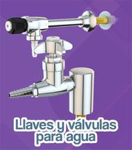 Llaves y valvulas para agua water saver
