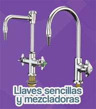 llaves sencillas y mezcladoras water saver
