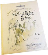 Вальс Империя, старинные ноты для фортепиано