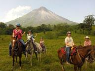 Paseo Caballo Volcan Arenal