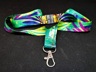 printed dye sublimation lanyard